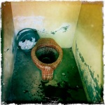 Toilette diminuto en Peru