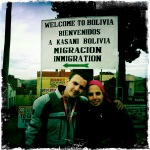 En la frontera Peru-Bolivia