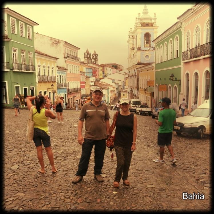 Plaza de Pelourinho donde el amigo Vadinho se paseaba embola..