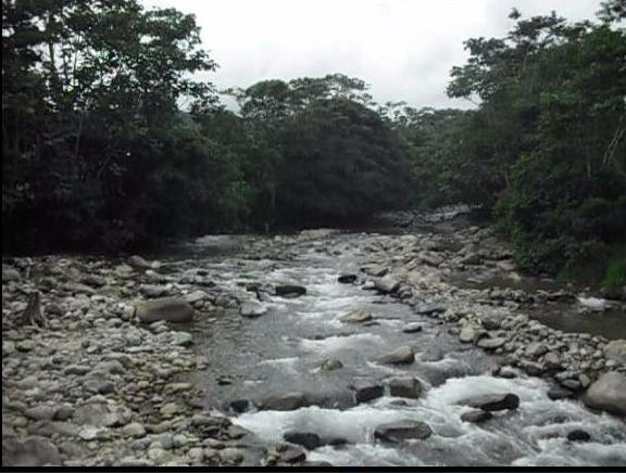 Río Putumayo cerca a Mocoa