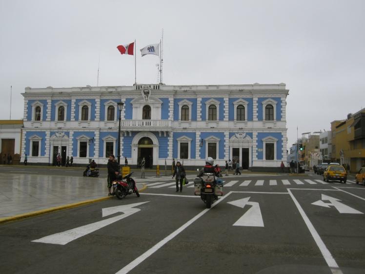 Plaza de Armas en Trujillo
