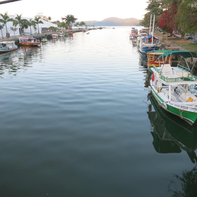 Barcos en Paraty