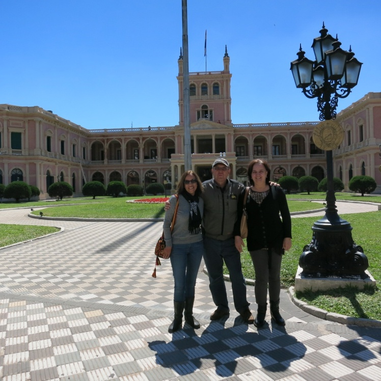 Palacio Despacho Presidencial Paraguay
