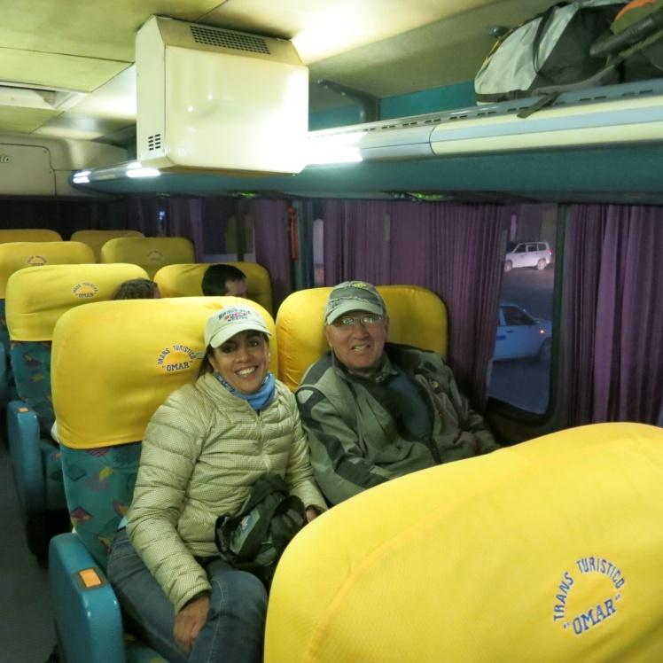 Bus Cama de Uyuni a La Paz: 13 horas