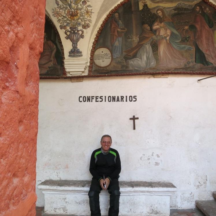 Haciendo turno para confesar mis pecados