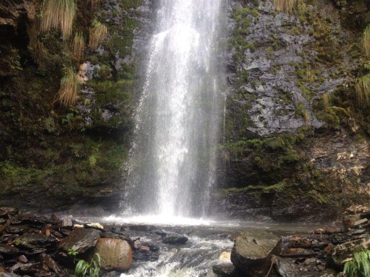 Base de la cascada