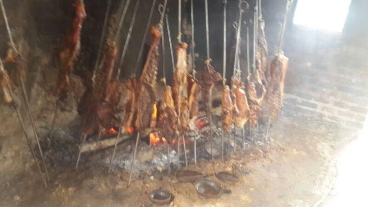 El Manicomio - Carne de cerdo asada... de lo mejor !!