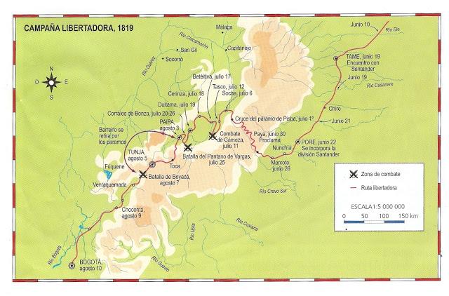 Mapa Ruta Libertadora