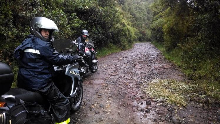 Subiendo al Nevado del Ruiz