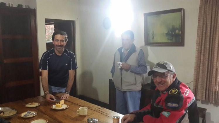 En la casa de don Gonzalo Uribe