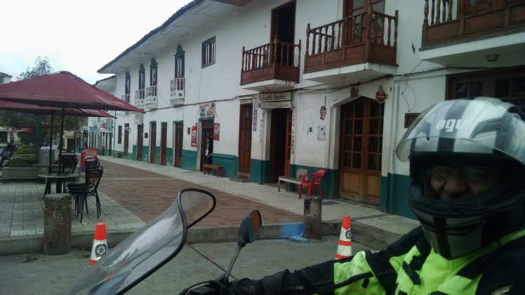 Entrada a la Plaza de Ramiriquí