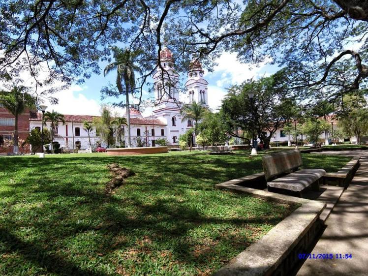 Iglesia de Charalá - Parque Principal