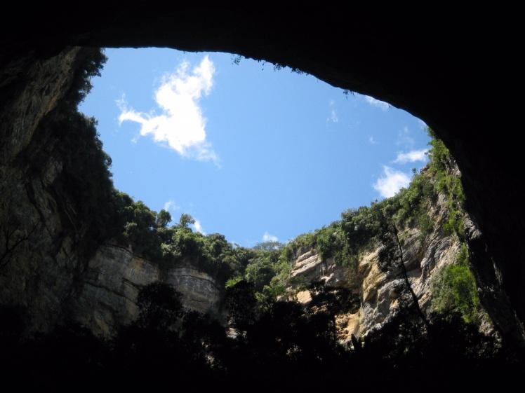 Vista desde el Interior - Foto de la Pagina Oficial del Municipio de La Paz
