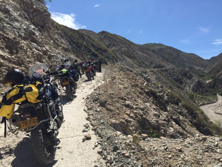 Congestión en la vía