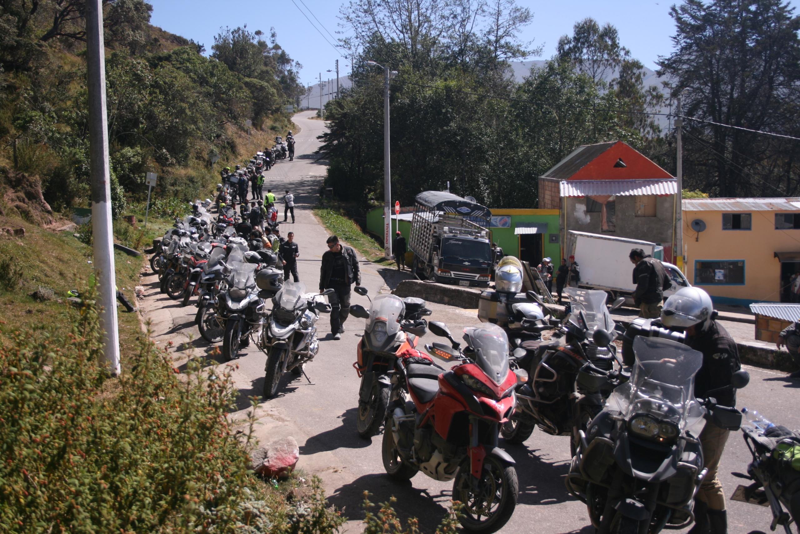 Parada en San Juan del Sumapaz - Foto de Catalina Bueno