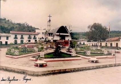 Plaza San Cayetano ańos 70