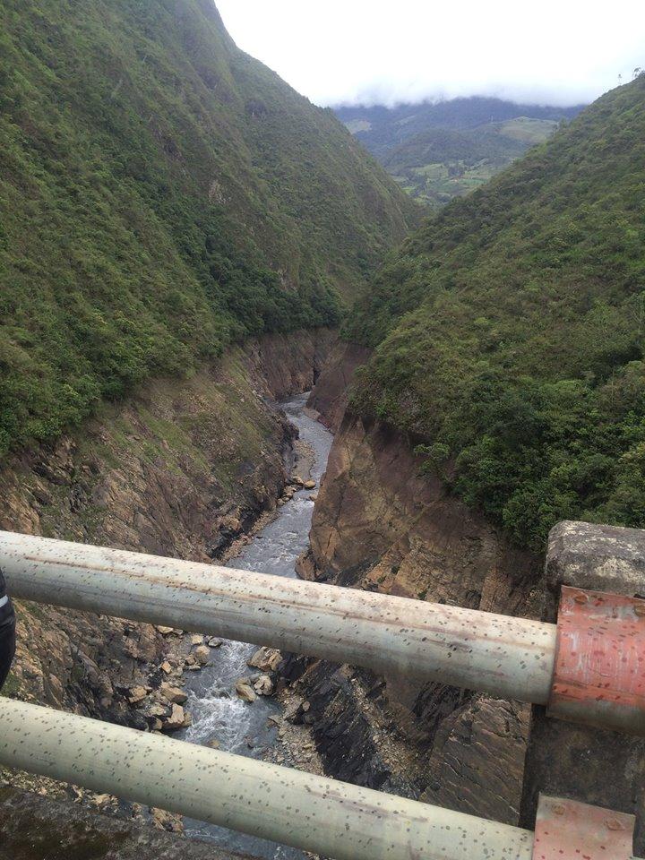 Cañón del río Patatas. Foto de Pablo Gonzalez Vallejo